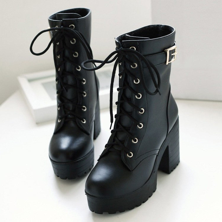 Korean fashion high-heeled boots Shoes yv2144