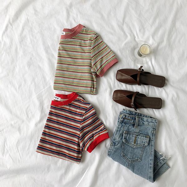 Chic Striped T-Shirt YV41134
