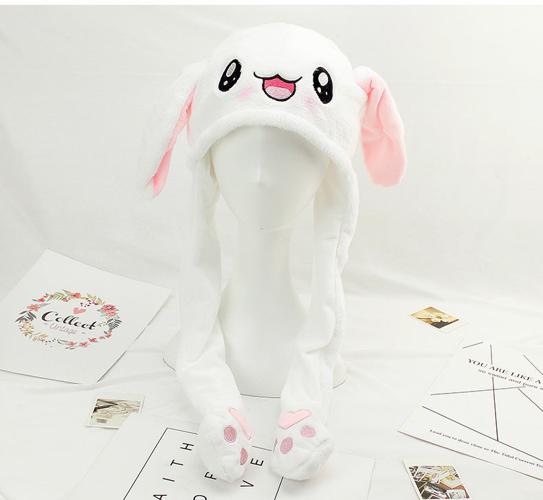 Cute moving rabbit hat YV40208