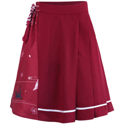 Harajuku high waist pleated skirt YV40735