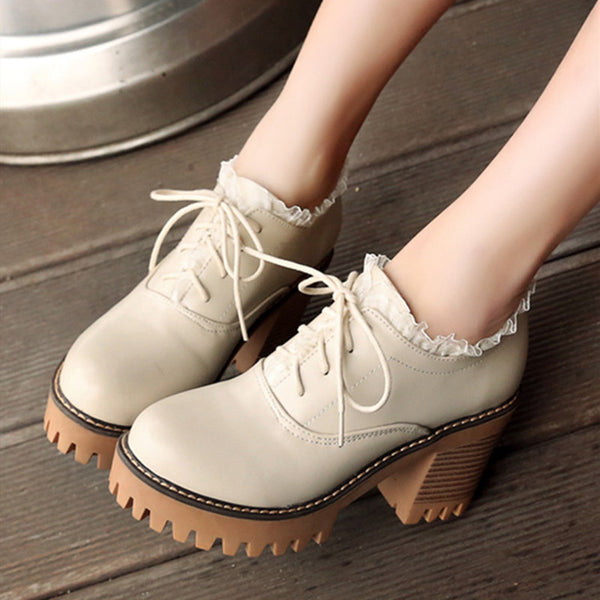 Lolita lace-up single shoes YV43667