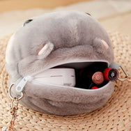 Kawaii Plush Hamster Purse YV453