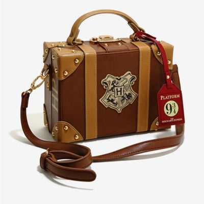 Travel box diagonal shoulder bag YV459