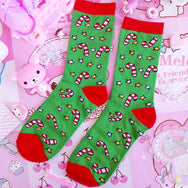 Cutekawaii Christmas socks 7 pairs YV8058