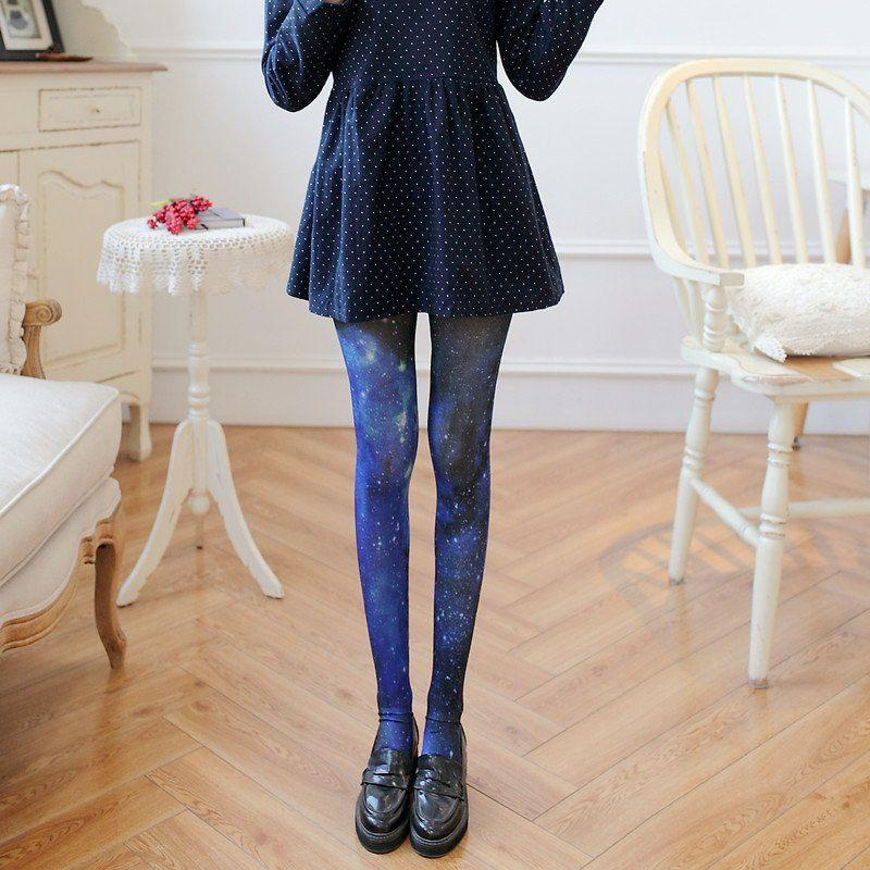 Japanese Harajuku Galaxy Tights YV2281