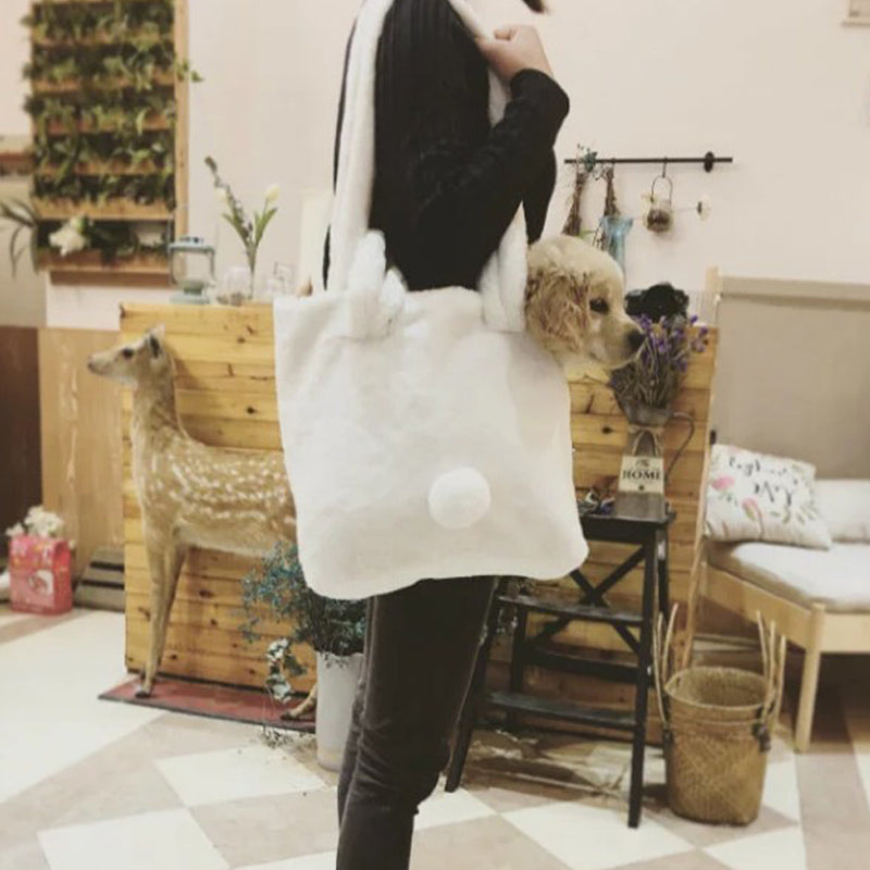 Cute bunny ears tail shoulder bag yv40645