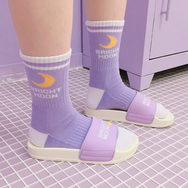 Bright moon two pairs socks yv5091
