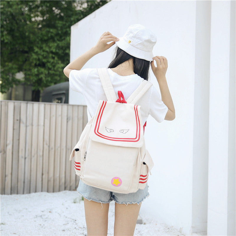 Variety Sakura canvas backpack YV40232