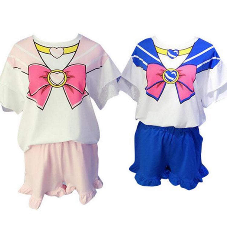 Sailor moon Pajamas suits (top + shorts) YV5032