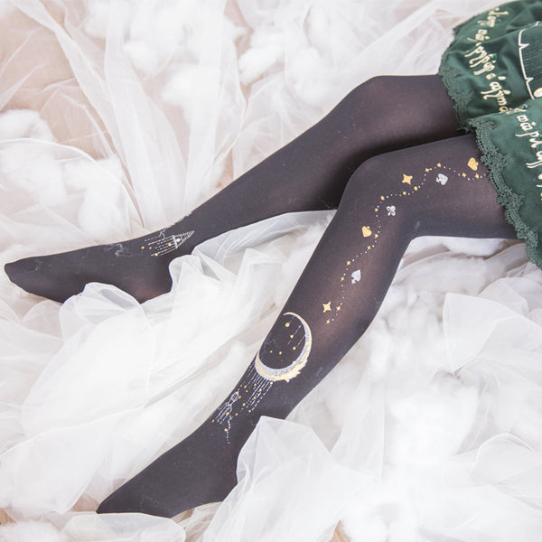 Lolita star moon COS socks yv40537