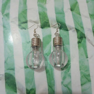 Light bulb Automatic color change  earring YV17004