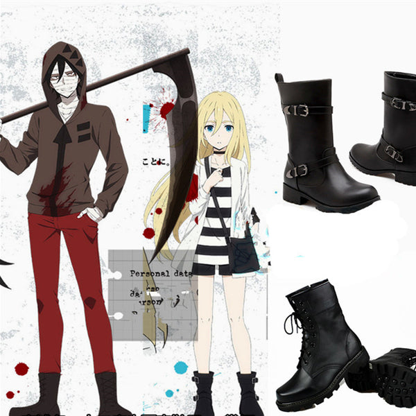 Killing Angel Ray and Zack Cosplay Shoes yv40506