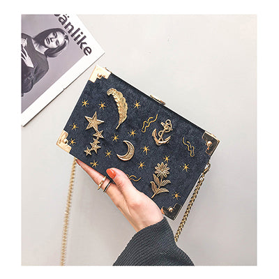 Korean velvet shoulder bag YV90077