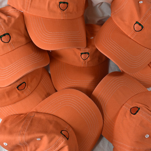 Cute peach orange cap YV42283