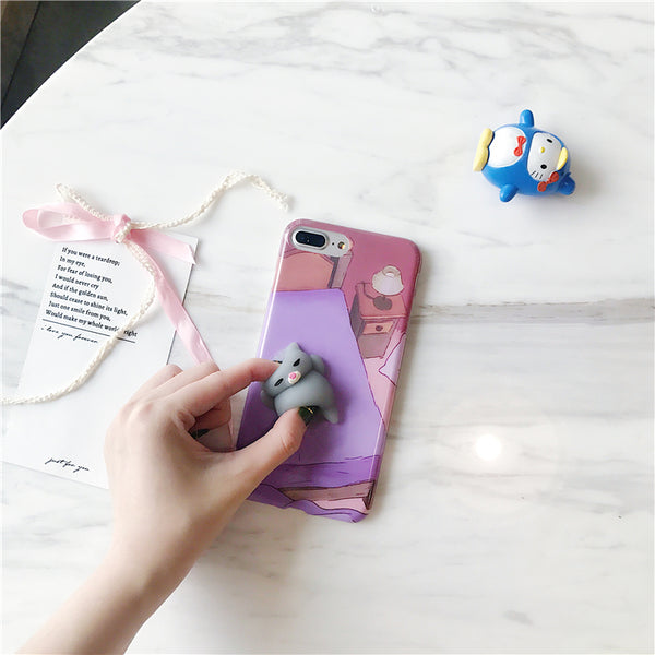 Please pinch me cat iPhone Silicone Case YV40144