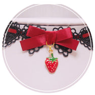 Cherry Strawberry Necklace YV41016