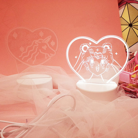 Sailor Moon / Unicorn Table lamp YV40250