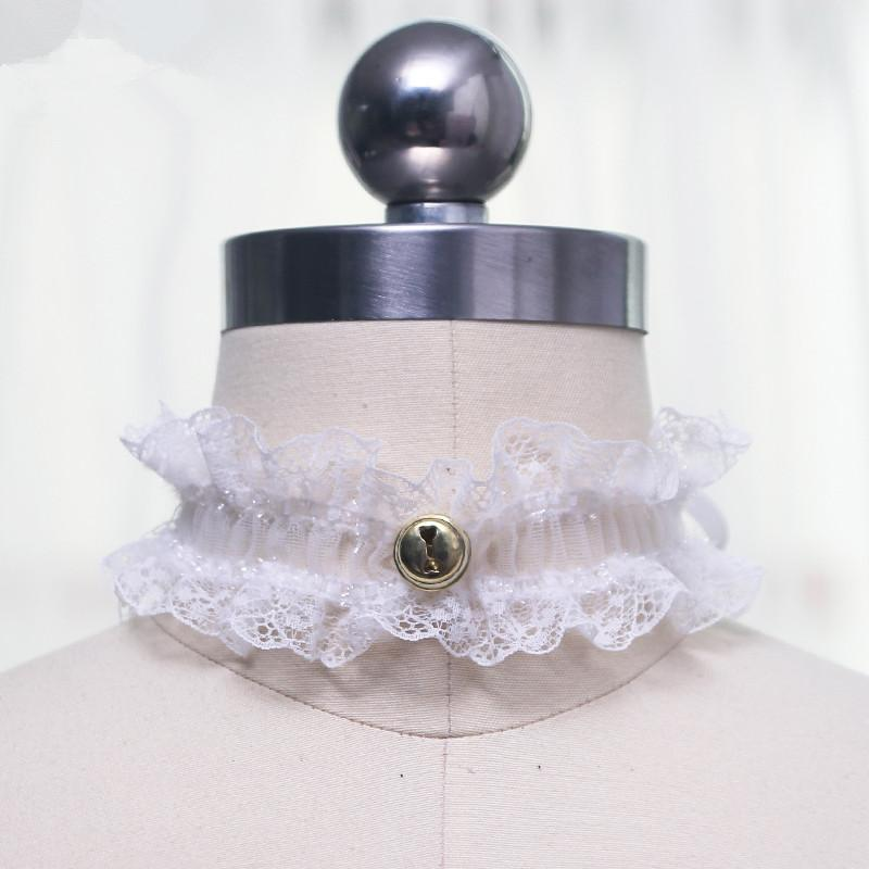 Cute bell lace collar yv40565