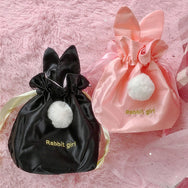 Cute rabbit ear storage bag YV40182