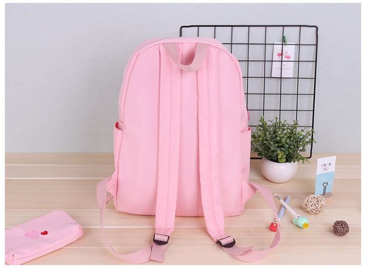 Japanese cute canvas backpack YV40091