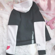 Japanese animation plus velvet sweater YV2509