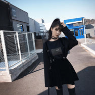 Black short skirts YV2092