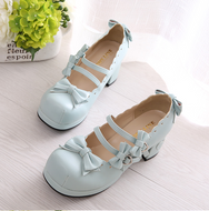 Kawaii Lace Bow Straps Shoes YV2145
