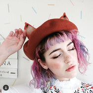 Youvimi the fox ears berets yv2012