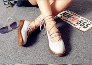 Sweet round bow doll shoes YV2162