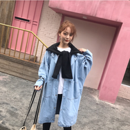 New bf wind loose denim jacket YV2168