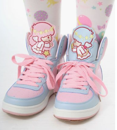 Harauku japanese cartoon little twin stars sneakers YV207