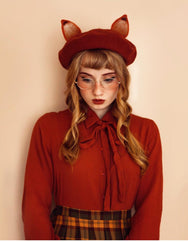 Review for the fox ears berets yv2012