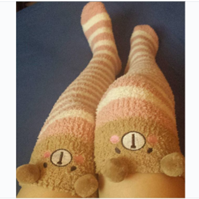REVIEW FOR HARAJUKU FASHION CUTE CARTOON STOCKINGS YV2242