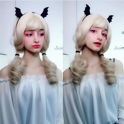 REVIEW FOR GOLD - COLORED LOLITA ROMAN HAIR WIG YV8043