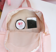 Japanese pastel college wind backpack YV2496