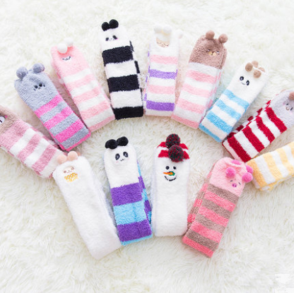 2 pairs Japanese cute cartoon socks yv40720