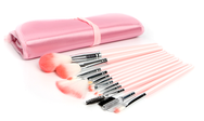 Pink Cosmetic Brush Sets (12pcs) YV128