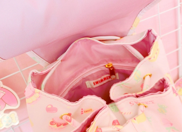 Cute Lovely printing macarons shoulder bag backpack YV5194