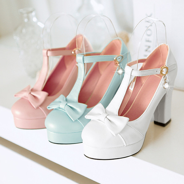 Lovely princess sweet bow-tie and shoe shoes YV18001