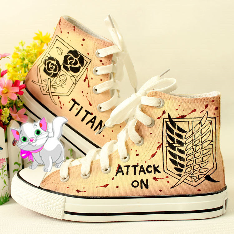 Harajuku anime hand-painted shoes  YV17056