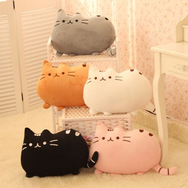 Cute cartoon cookies cat cushion pillow YV105