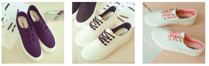 Pastel  canvas sneakers YV2022