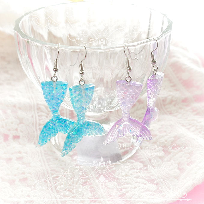 Mermaid Tail  Symphony Sequins Earring YV40264