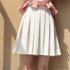 High waist pleated skirt YV40221