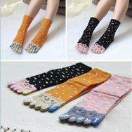 Kawaii Cat Fish Finger Socks  YV495