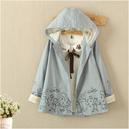 Mori girl cape style fall jacket YV2368