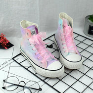 Colorful Harajuku Canvas Shoes  KF202