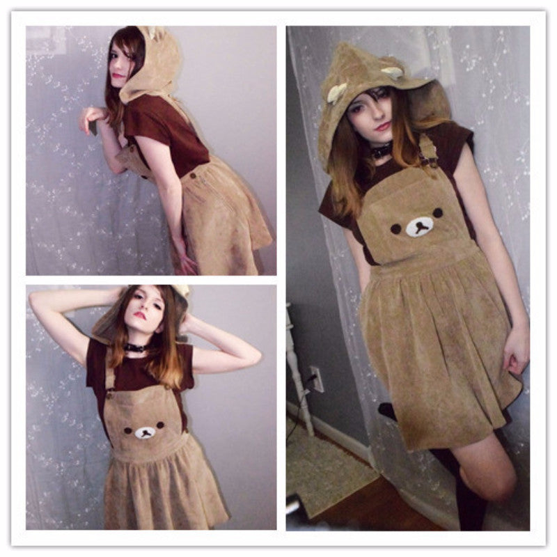 Thank you for reviewer form instagram @nyuboom (CUTE RILAKKUMA DRESS YV204)