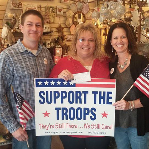 Military Mom sends 10,000th care package!