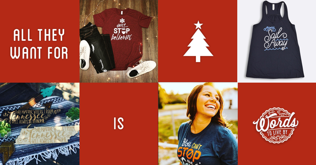 Need a little Christmas shopping inspiration? Scroll.